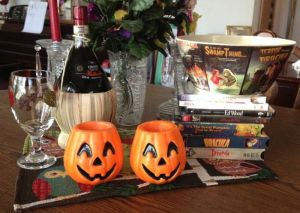 My own personal Halloween accoutrements!