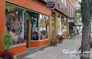 Rhinebeck, the village...
