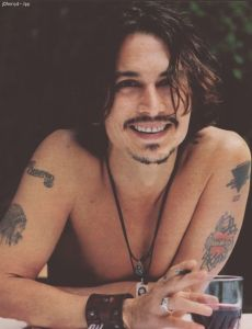 2nd known time Johnny Depp smiled in his entire life