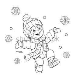 A wee bit o' snow!